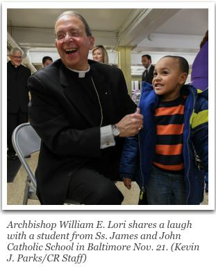 Archbishop William E. Lori, the Knights' supreme chaplain